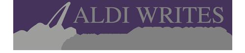 Aldi Writes Logo